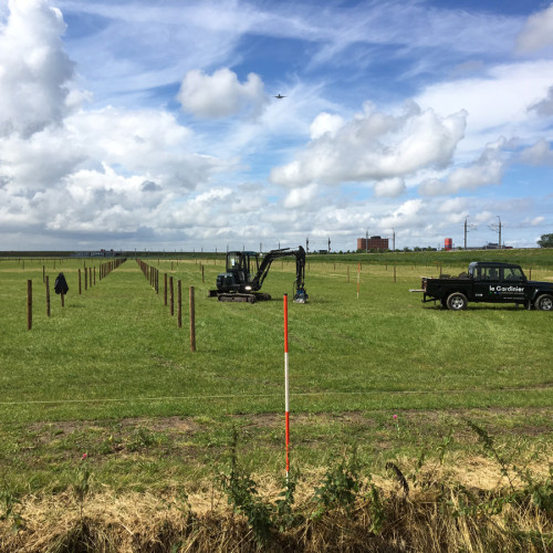 Omheining weiland Stal 't Kabel Nieuw-Vennep