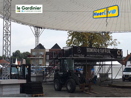Opbouw Meerlive Hoofddorp evenement Haarlemmermeer