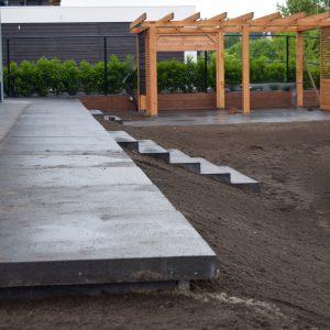 terras aanleg