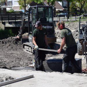 aanleg tuin nieuwbouwwijk