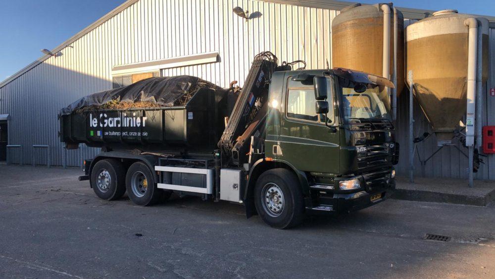 vrachtwagen Le Gardinier